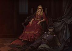 Cersei by JunuArt on DeviantArt