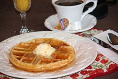 Perfection: Overnight Crispy and Tender Yeast Waffles #breakfast #food #recipe