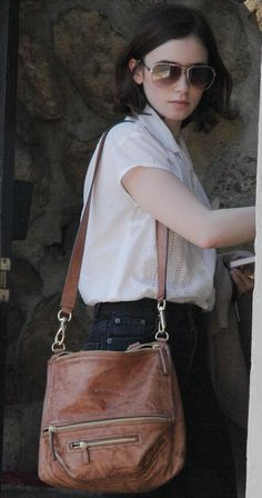 Lily Collins Out & about in Hollywood - January 17, 2014