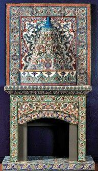 Turkish tile work