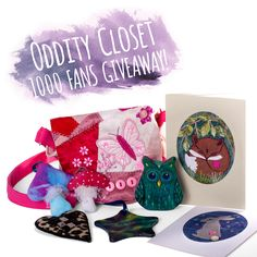 It's time for our first ever competition! Head on over to https://gleam.io/fb/eq4Ys for more information and to enter! There's multiple ways to get involved :) www.facebook.com/odditycloset