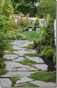 idea for all the flagstone in our yard