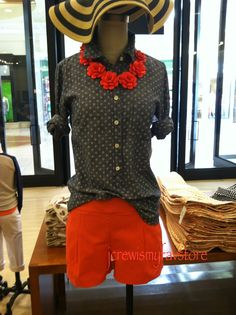 j crew shorts outfit - Google Search