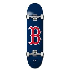 Boston Red Sox MLB Complete SkateboardElement Skateboards + MLB BaseballComes with the team's logo on the deck and grip tape, team colored trucks, 52mm ...