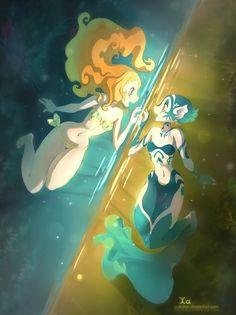 Awesome Illustrations by XA-XA-XA