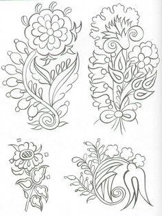 Turkish embroidery design elements