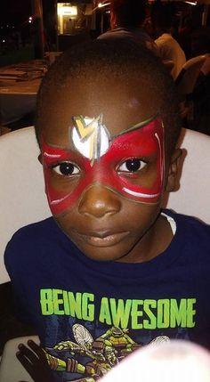 #flashfacepaint #superherofacepaint #funfacesballlooncreationsfacepaint Flash Face Paint, Superhero Face Painting, Carnival, Carnavals
