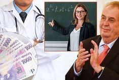 Velký přehled platů podle profesí! O kolik si polepší Miloš Zeman? A kolik přidají vám? Horoscope