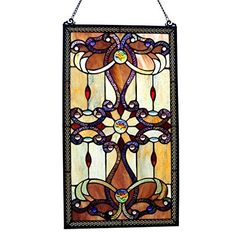 Stained glass home decor is elegant, trendy and timeless.  As evidence of this just look around you.  Many beautiful homes use a combination of stained glass wall decor, stained glass wall hangings and stained glass accent lights to create a vibe that is the epitome of beautiful, relaxing and inviting.    River of Goods 26