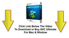 Any Video Converter Review and Demo ( Mac + Win ) Download ►► http://www.thecheapsoftware.com/avcultimate Buy ►► http://www.thecheapsoftware.com/buyavcultima...