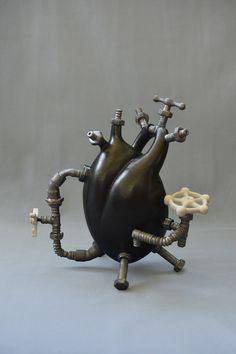 Heart from Canadian Ceramic Artist Amy Li-Chuan Chang.