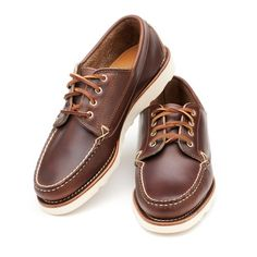 Clymer - Brown Chromexcel  Totally coppin' these.