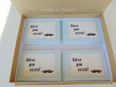 Wet you whιskers-βάπτιση με θέμα τα μουστάκια ~ Sugar & Pearls