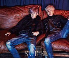 GOT7 facebook update ------------- Mark, Jackson @ SURE (December, 2015)