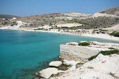 Prassa beach, Kimolos, Greece