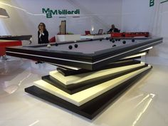 Thanks to high level production and to continuing design research, MBMBiliardi offers Top products in range in Design, Luxury and High Performance Diy Pool Table, Outdoor Ping Pong Table, Pool Tables, Hookah Lounge, Club Design, Billiard Room, Design Research, White Led Lights, Cool Pools