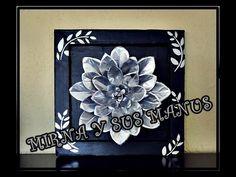 RECICLAJE. flor con latas de aluminio.RECYCLING. flower with aluminum cans. - YouTube