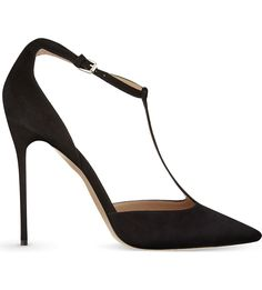 GIANVITO ROSSI Romy suede courts