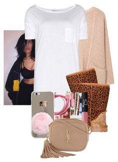 """Slaw day ‼️"" by crowned-ivy ❤ liked on Polyvore featuring MANGO, T By Alexander Wang and Yves Saint Laurent"