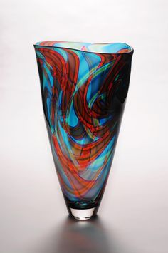 Bob Crooks April 2013 Jurassic Vase | John Noott Galleries