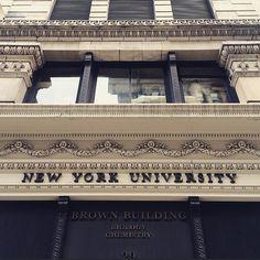 Campus feels awfully lonely this week. #NYU #SpringBreak