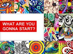 Sharpie website. I love the art challenge