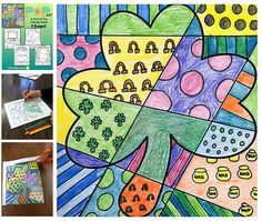 Have some real fun this March with my Pop Art St. Patrick's Day coloring sheets. Students add bold patterns to different St. Patrick's Day symbols and then color their designs to produce a Pop Art styled St. Patrick's Day picture!   This is fun, easy and unique. It's a sure winner with the kids! I have included 4 different designs to allow for many choices and options.