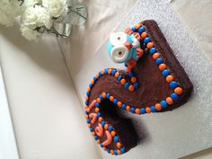 Hoot Number 2 Birthday Cake. Yum!