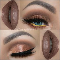 """""""Glammed in Sepia"""" Hey my loves! Here is a new look I created for you guys using the 35O Palette by @morphebrushes and """"Sepia"""" Liquid Lipstick by @anastasiabeverlyhills Hope you all love this look as much as I do! As always here are the complete details: Foundation: @toofaced """"Born This Way"""" Primer: @benefitcosmetics POREfessional Primer. Eyebrows: @anastasiabeverlyhills Brow Wiz in """"Dark Brown"""" Eyeshadows: @morphebrushes 35O Palette. Liner: @tartecosmetics """"Tarteist Clay Paint Liner""""…"""