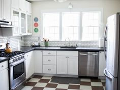 Sunny kitchen was recently remodeled
