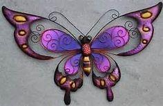 large metal butterfly yard art - Bing images
