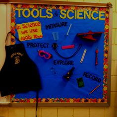 Science bulletin board-tools