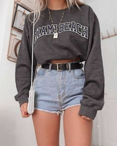 Wonderful Outfits & Popular Looks For Ideal Girls – Mode – – Brenda O. Wonderful Outfits & Popular Looks For Ideal Girls – Mode – – … Cute Casual Outfits, Cute Summer Outfits, Stylish Outfits, Shorts Outfits For Teens, Outfit Ideas Summer, Spring Outfits, Cute Cheap Outfits, Cardigan Outfits, Weekend Outfit
