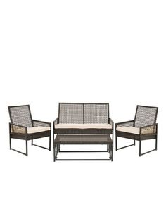 Shawmont Outdoor Set (4 PC) by Safavieh on Gilt Home