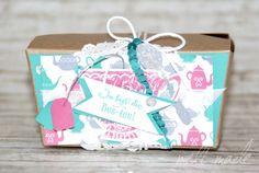 """Take-out-Box Stampin'UP! Geschenke Karte """"Noch ein Tässchen"""""""