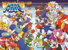 all mega sonic toons | Talking With Archie Comics About Sonic & Mega Man: Worlds Collide