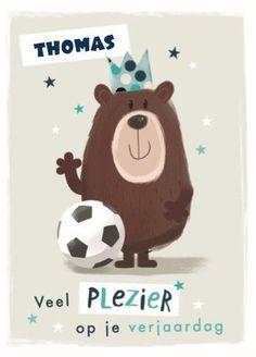 Een leuke kaart voor een jarige voetbalfan! #Hallmark #HallmarkNL #wenskaart #verjaardag #allaboutgus