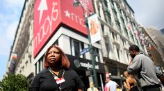 Hourly workers often face unpredictable schedules and fluctuating hours each week, but at a Macy's in Manhattan, a union has made a difference.