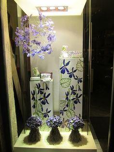 Fragonard, violet fragrance promotion, Paris