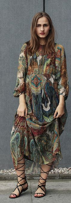 Maxi Boho Dress Styling