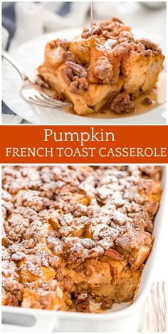 882 best fall the best fall recipes images on pinterest kitchens pumpkin french toast casserole recipe for the perfect fall breakfast or brunch recipe from forumfinder Choice Image