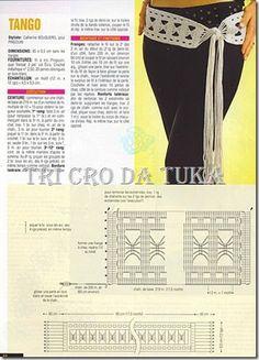 TRI CRO DA TUKA: acessórios/crochê