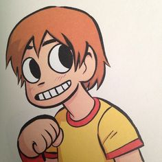 17fmoon:  from the back of the colored edition of scott pilgrim...