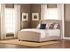 Hillsdale Furniture Barrington King Bed Set w/ Rails 1262BKR