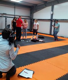 Great to welcome First Response Training Solutions into The Hangar this morning, for their filming project for self-defence and first aid.