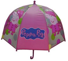 Peppa Pig - Umbrella. Your kids can stay dry with this Peppa Pig Umbrella. $19.99