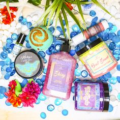 THE OCEAN SCENT YOU Full Collection (excludes nail polish) - $70.37 Save 10% off all 8 full-sized The Ocean Scent You products, when purchased together. Limited Stock.  ALWAYS WITH YOU Whipped Cream BEYOND THE REEF Roll On Shimmer Perfume Oil BOAT SNACK 8oz Foaming Sugar Scrub HEART OF A GODDESS Fortune Cookie Soap HERO OF ALL Tattoo Salve SHINY Shimmer Body Wash THE REALM Jelly Soap WAYFINDER Bath Bomb