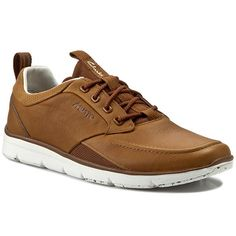 Shoes CLARKS - Orson Crew 261157777 Tan Leather