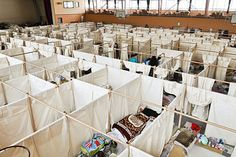 Paper Partition System for East Japan Earthquake and Tsunami by Shigeru Ban