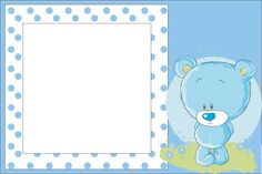 Baby Boy Invitations, Free Printable Invitations, Party Printables, Minion Invitation, Invitation Layout, Festa Mickey Baby, Mickey Mouse Birthday Decorations, Baby Icon, Baby Images